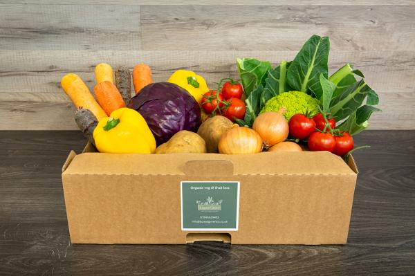 Organic Veg Box - Medium